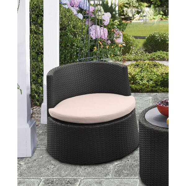 Spafford Patio Chair with Cushion (Set of 2) by Brayden Studio