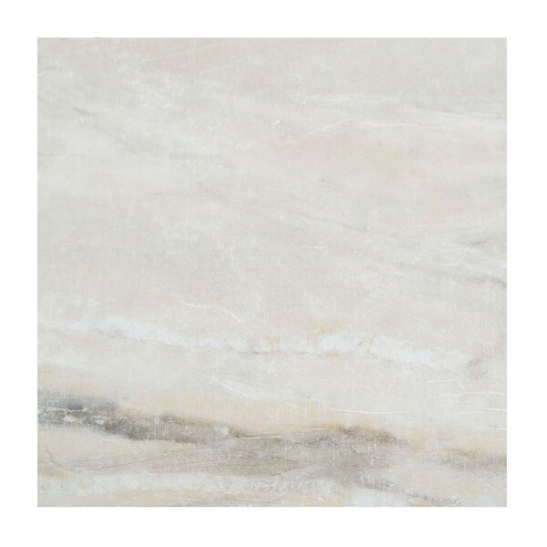 Pearl 18 x 18 Porcelain Field Tile in Almond by Casa Classica