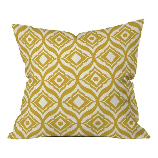 Heather Dutton Trevino Throw Pillow by Deny Designs