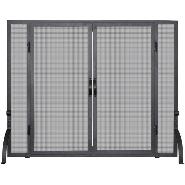 Single Panel Fireplace Screen By Uniflame