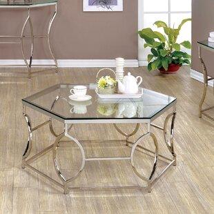 Frostia 3 Piece Coffee Table Set Orren Ellis