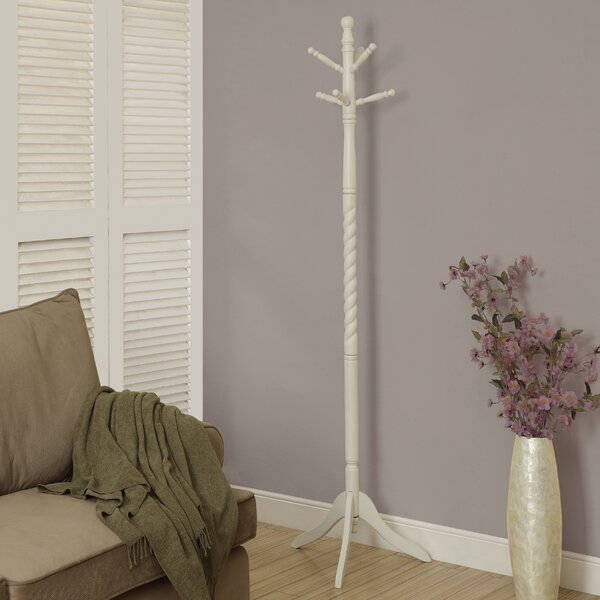 Traditional Solid Wood Coat Rack by Monarch Specialties Inc.