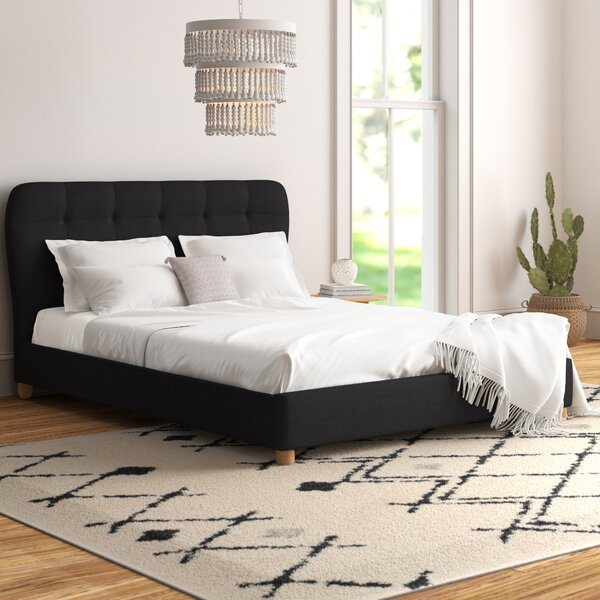 Brotherton Upholstered Platform Bed by Trule Teen