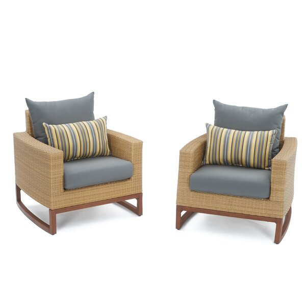Addison Club Chair with Cushions by Bayou Breeze
