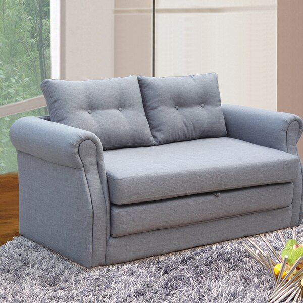 Rensselaer Sleeper Loveseat by Andover Mills