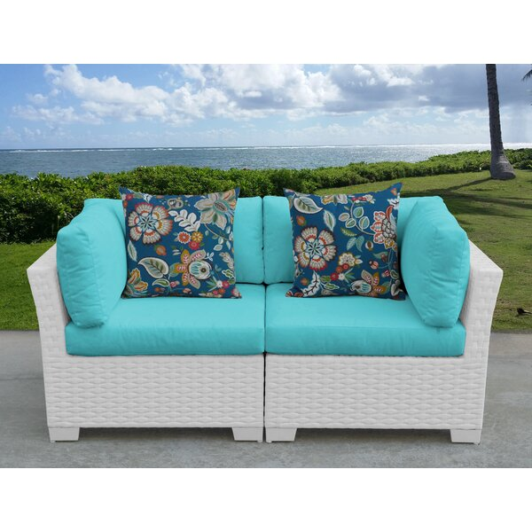 Monaco Loveseat with Cushions by TK Classics