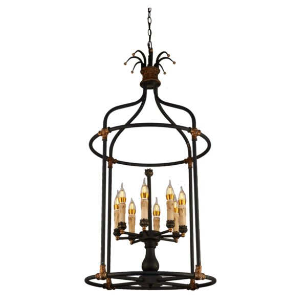 Sweet 8-Light Lantern Pendant by Bay Isle Home