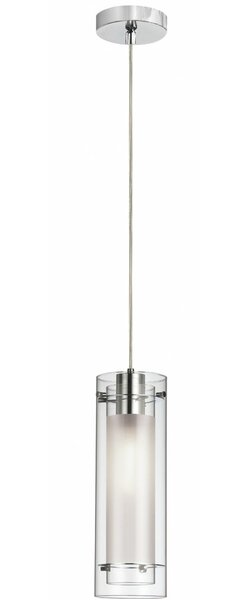 Fennia 1-Light Cylinder Pendant by Orren Ellis