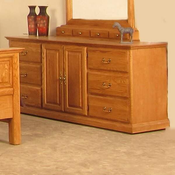 Lacluta 6 Drawer Combo Dresser by Loon Peak