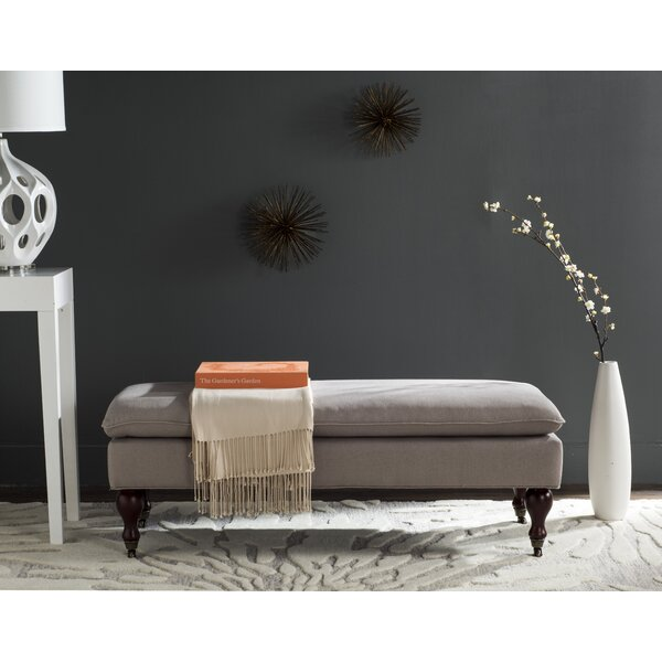 Carol Upholstered Bench by Alcott Hill