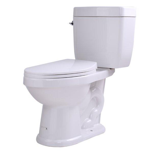 Talos 1.6 GPF Elongated Two-Piece Toilet by ANZZI