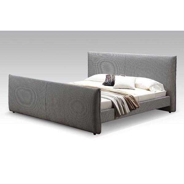 Bruno Upholstered Platform Bed by Bellini Modern Living