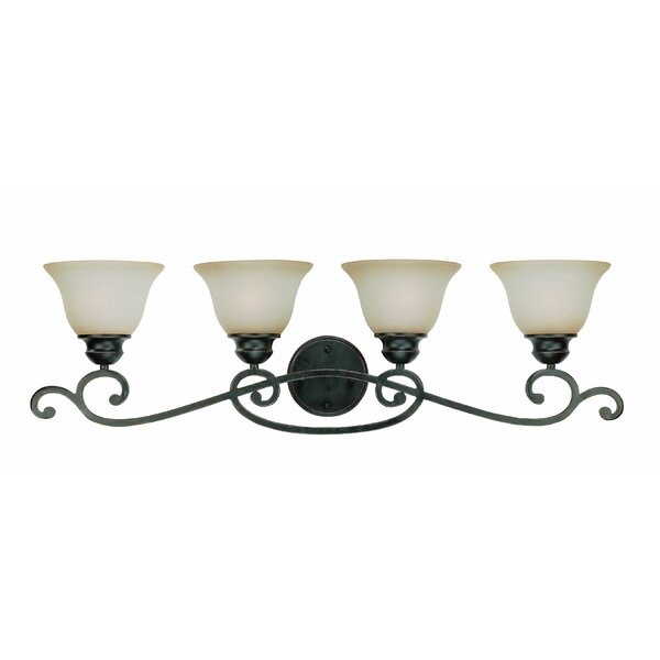 Charbonneau 4-Light Vanity Light by Fleur De Lis Living
