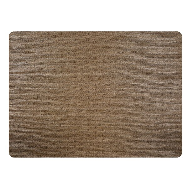 Sisal Rectangle Placemat (Set of 4) by Dasco