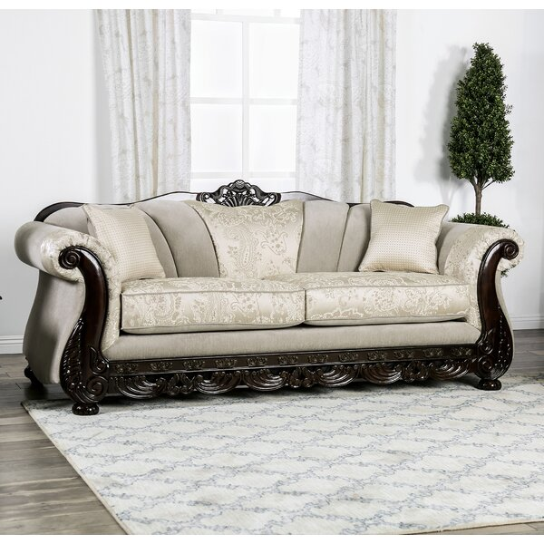 Sales-priced Renda Rolled Arms Sofa by Astoria Grand by Astoria Grand