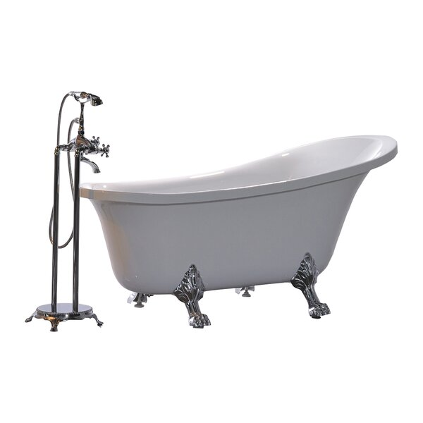 King 69 x 30 Soaking Bathtub by Legion Furniture