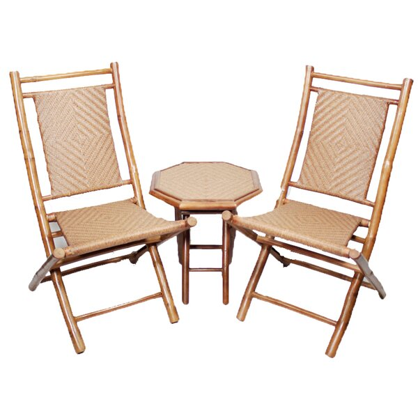 Alonzo 3 Piece Seating Group by Bay Isle Home