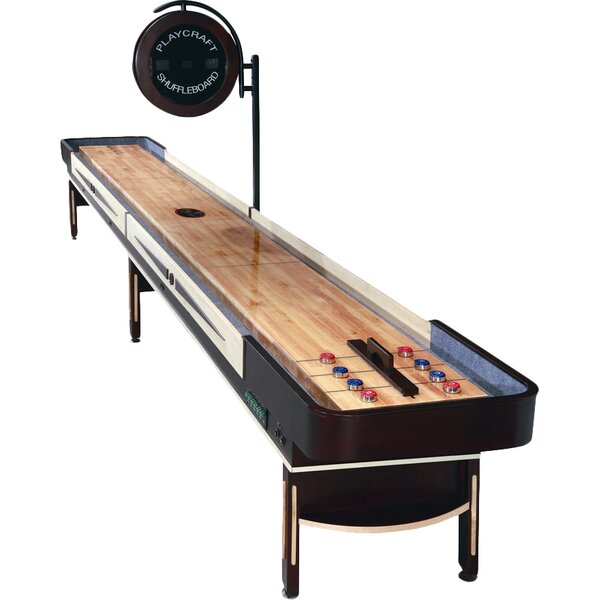 Telluride Espresso Shuffleboard Table by Playcraft