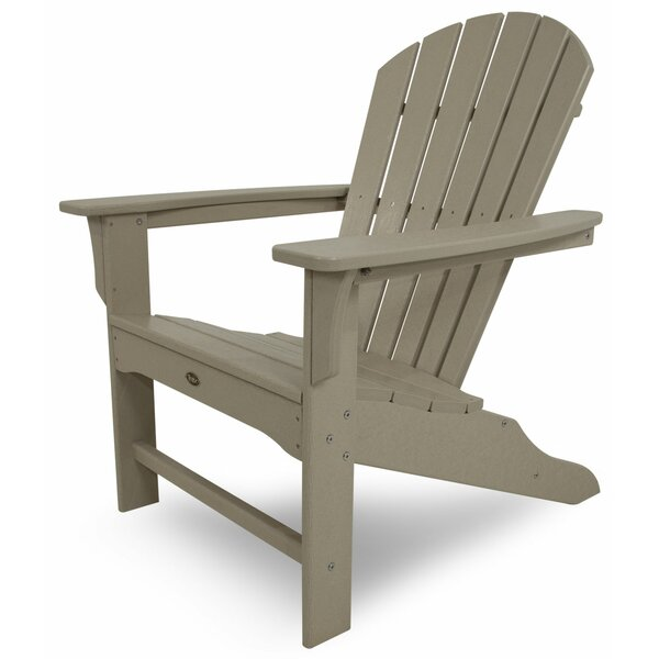 Yacht Club Plastic/Resin Adirondack Chair by Trex Outdoor Trex Outdoor