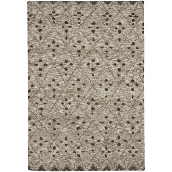 Fortress Hand-Knotted Tan Area Rug by Capel Rugs