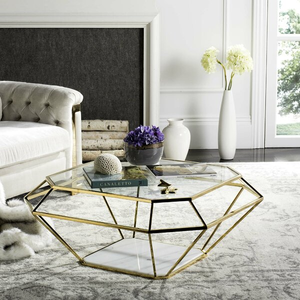 Coletta Coffee Table with Magazine Rack by Willa Arlo Interiors