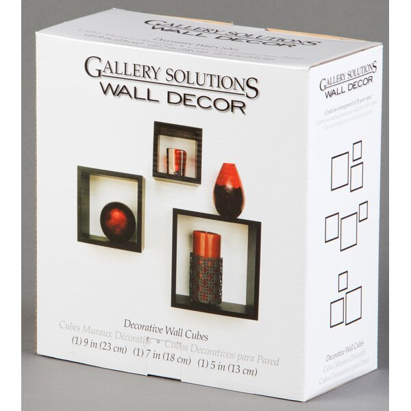 3 Piece Nested Cubes Boxed Set by Nielsen Bainbridge