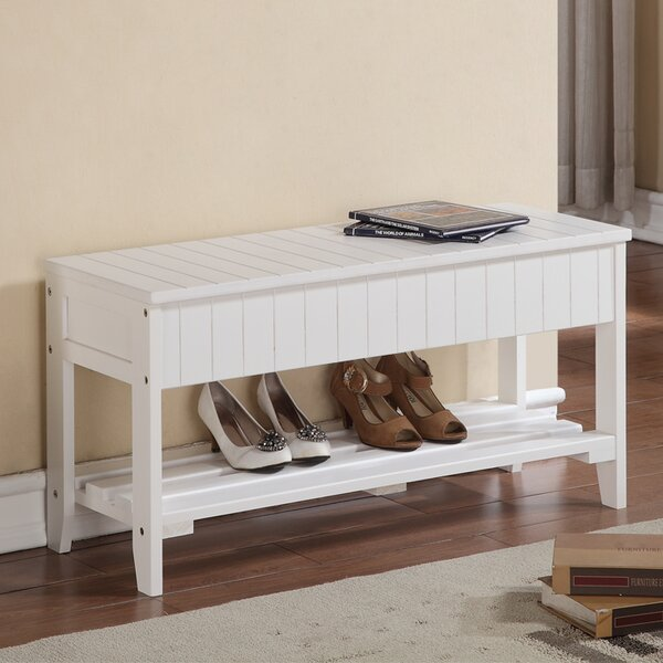 Rumford Wood Storage Bench by Andover Mills