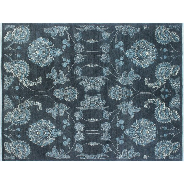 One-of-a-Kind Abbotsford Fine Hand-Knotted Gray Area Rug by Isabelline