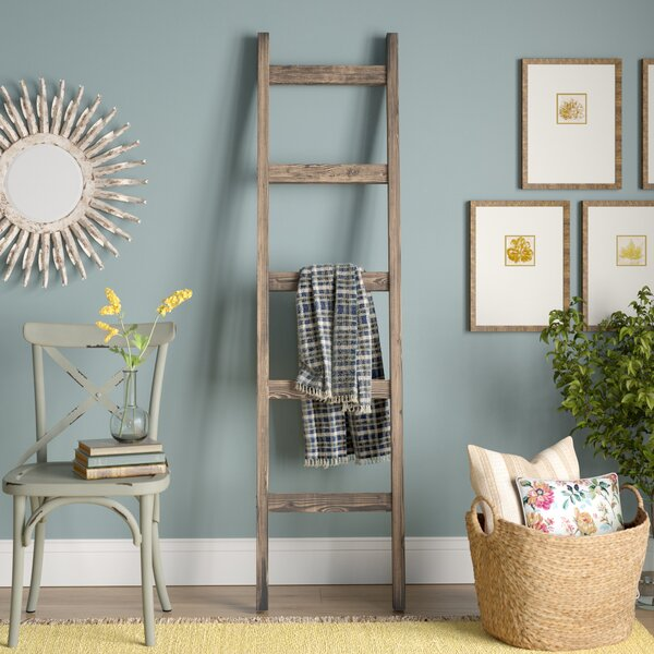 Handmade 6 ft Decorative Ladder by Gracie Oaks