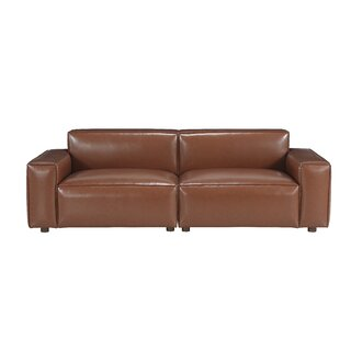 Bobby Berk Upholstered Olafur 2 Piece Modular Sofa Sectional By A.R.T. Furniture in , Brown by Bobby Berk + A.R.T. Furniture SKU:AA680062 Guide
