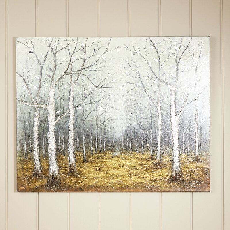 Birch Lane™ Autumn Dusk Framed Wall Art | Birch Lane