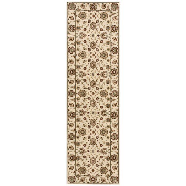Bollitree Ivory/Beige Area Rug by Astoria Grand