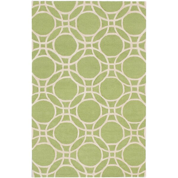 Hartland Casual Hand Tufted Ivory Area Rug by Mercer41