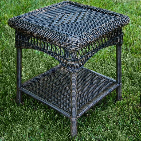 Portside Wicker Side Table by Tortuga Outdoor
