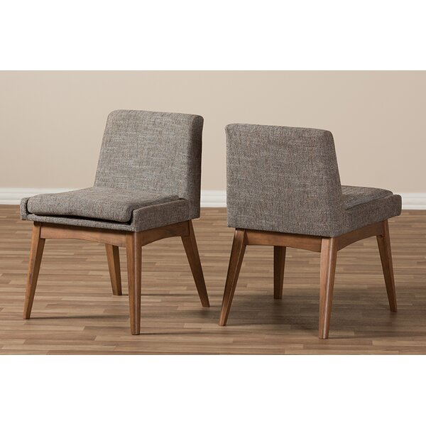 Carrasquillo Upholstered Dining Chair (Set of 2) by George Oliver