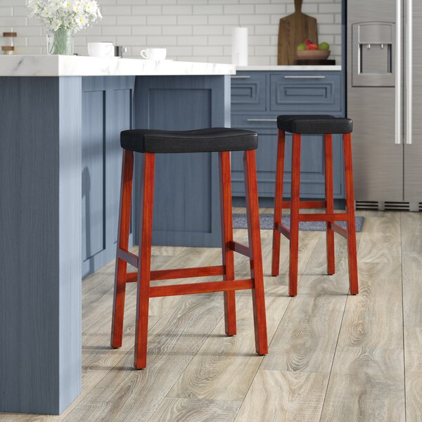 Newark 29 Bar Stools (Set of 2) by Alcott Hill