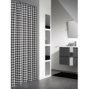 Sealskin Houndstooth Shower Curtain