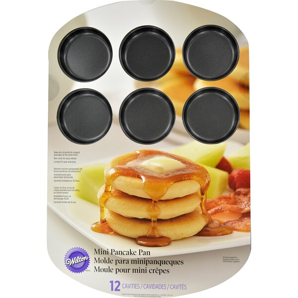 Non-Stick Mini Pancake Pan by Wilton