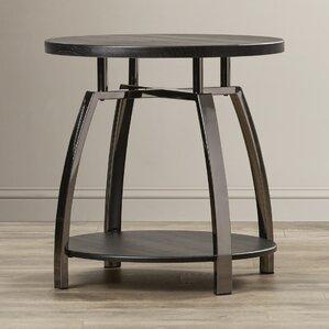 Manolis End Table by Orren Ellis
