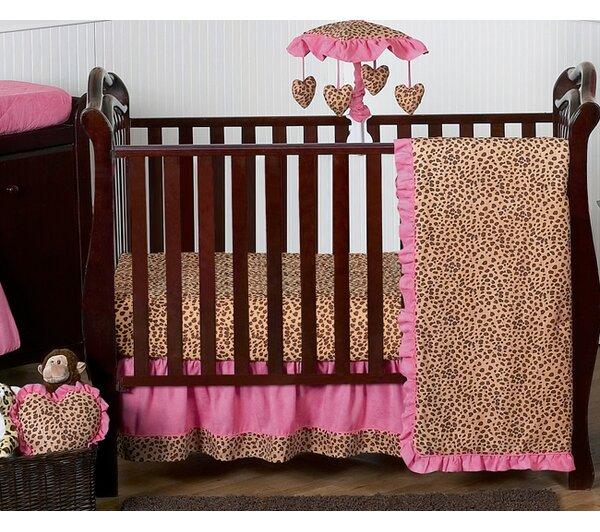 Cheetah Girl 11 Piece Crib Bedding Set by Sweet Jojo Designs
