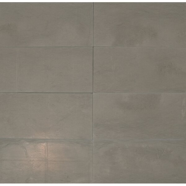 Maes 12 x 24 Limestone Field Tile in Taupe by The Bella Collection