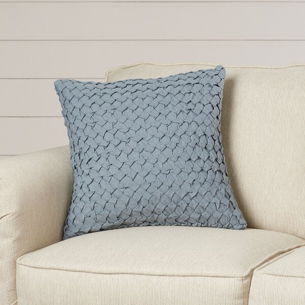 Marine Linen Throw Pillow by One Allium Way