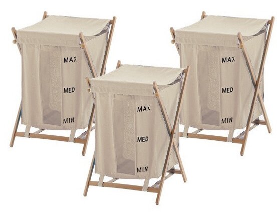 Bubo Laundry Set (Set of 3) by Gedy by Nameeks