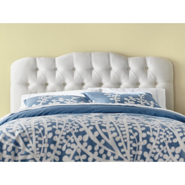 Davina Shantung Arch Upholstered Panel Headboard by Willa Arlo Interiors