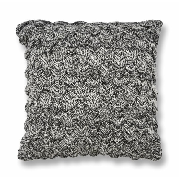 Hogue Knit Cotton Throw Pillow by Gracie Oaks