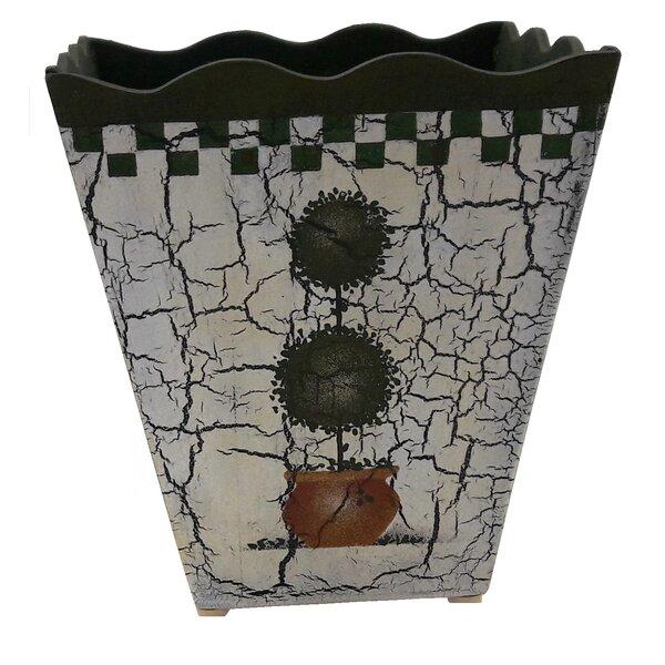 McNamara Wood Pot Planter by Fleur De Lis Living