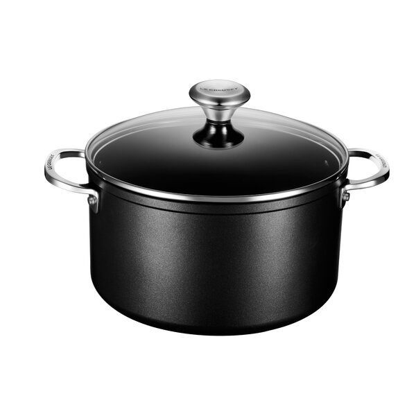 Toughened Nonstick Stock Pot with Lid by Le Creuset