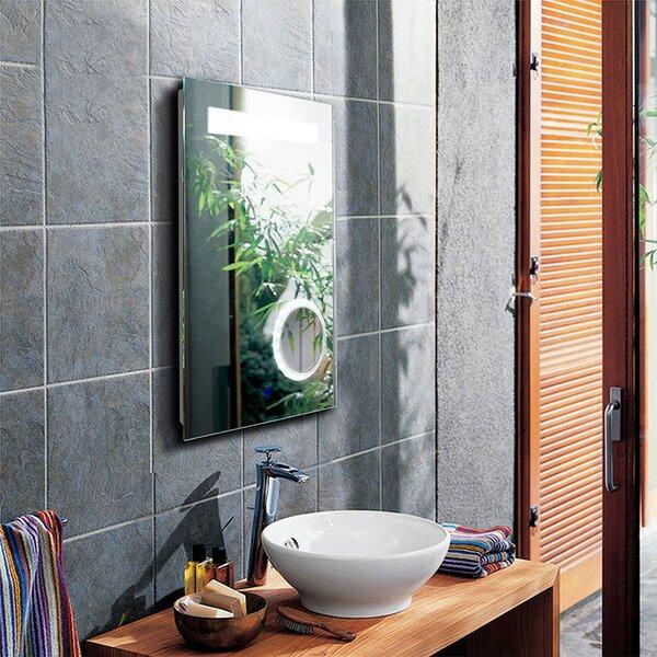 Kaarlo Aluminum Morden and Contemporary Bathroom/Vanity Mirror