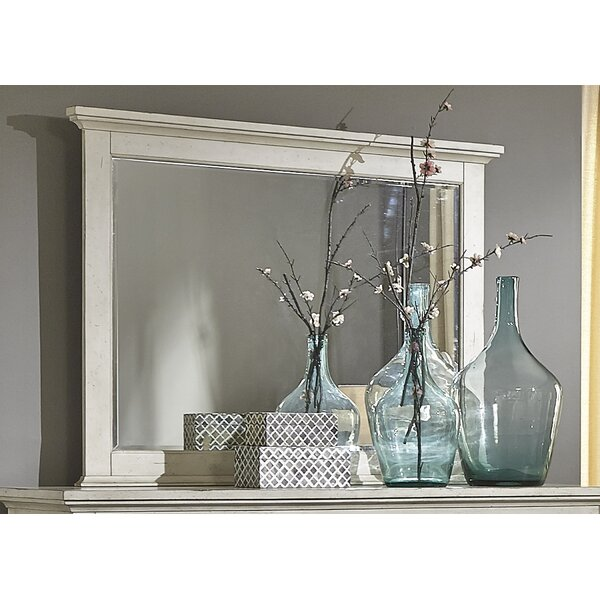 Philomena Rectangle Landscape Wall Mirror by Lark Manor