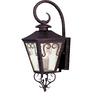 Find a Easton 3-Light Outdoor Wall Lantern By Breakwater Bay